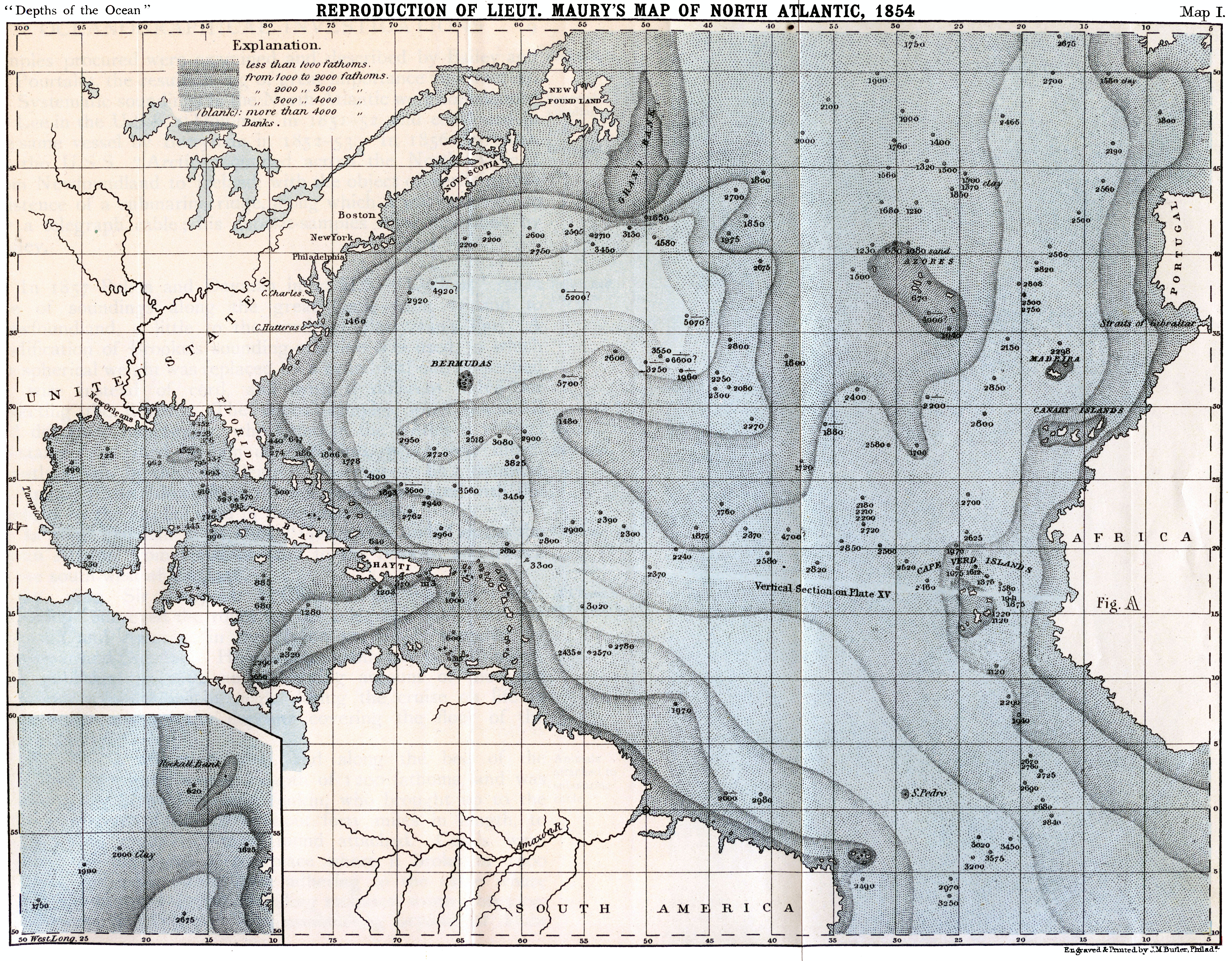 How Much Did Maps Have To Be Altered Once Satellites Began To Be - Ocean depth map